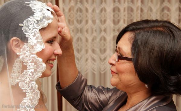 Hairstyle Bride Mom