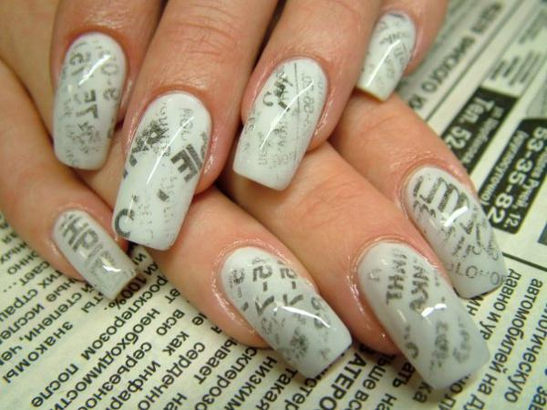 lin nail art 35 Beautiful Nail Art Ideas