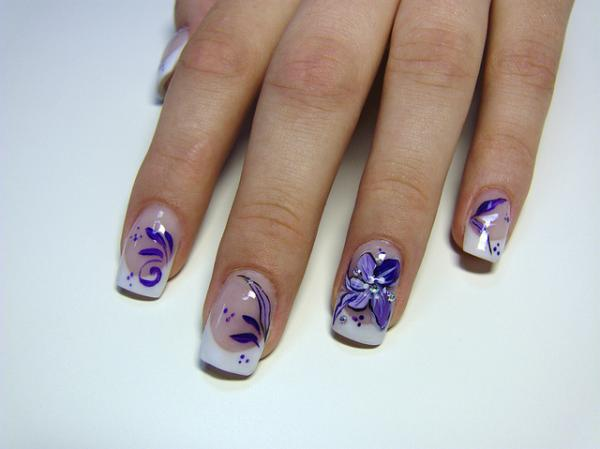 purple groove 35 Beautiful Nail Art Ideas
