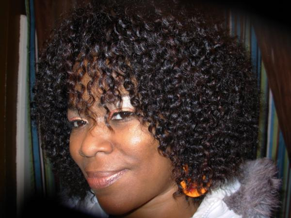 Curly Wig Hairstyle