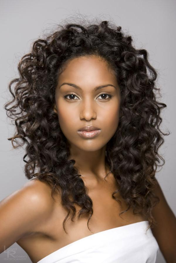 Long Hairstyles for Black Women Curly Hair