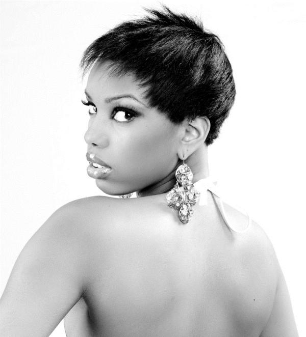 Very Short Boycut Black Hair
