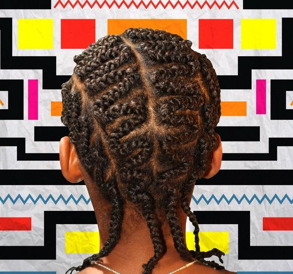 Zig Zag Braided Hairstyle