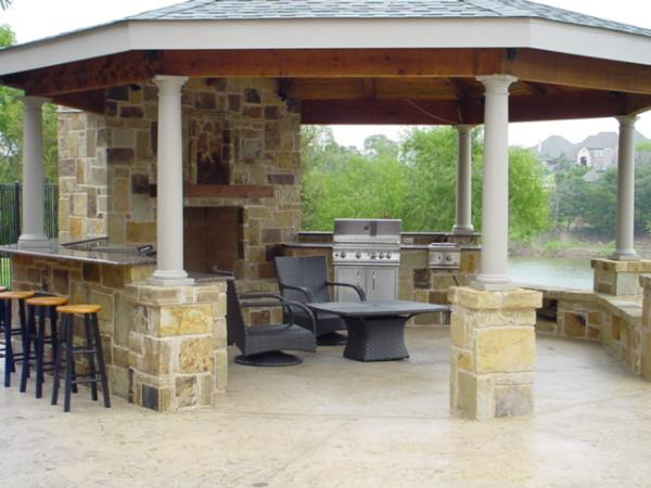 Kitchen Designs 40 Fantastic Outdoor Examples Slodive