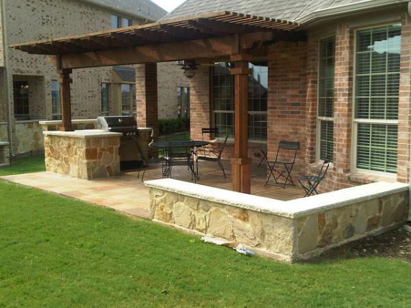 Backyard Kitchen Ideas Alluring 40 Fantastic Outdoor Kitchen Designs  Slodive Design Inspiration