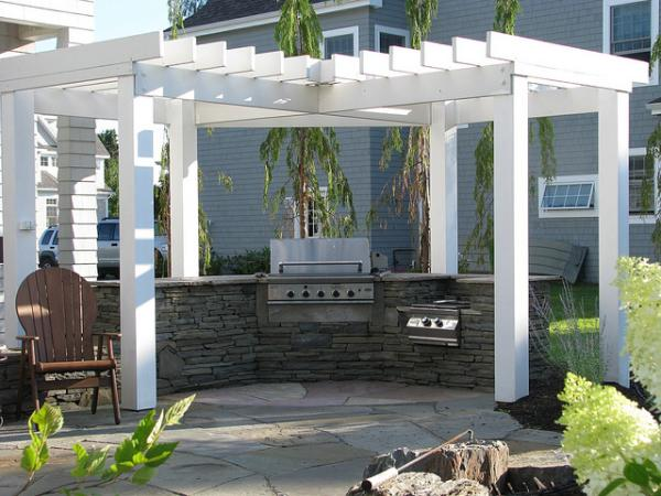 Outdoor Kitchen Maine