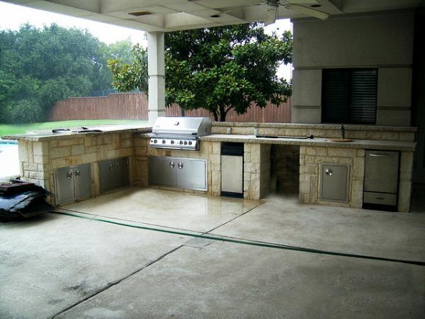 Outdoor Kitchen Design Southlake Texas
