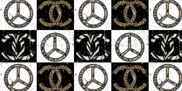 black white peace 25 Peace Sign on Facebook Pictures and Codes