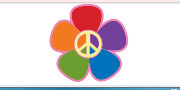 rainbows flowers peace 25 Peace Sign on Facebook Pictures and Codes