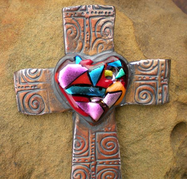 Broken Heart On Cross