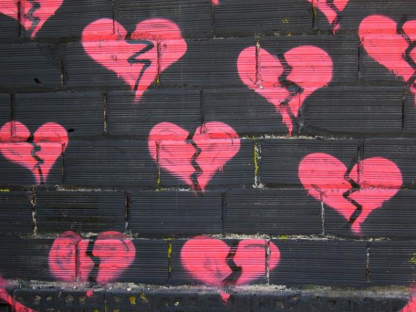 broken heart wall 35 Pictures Of Broken Hearts To Make You Feel The Pain