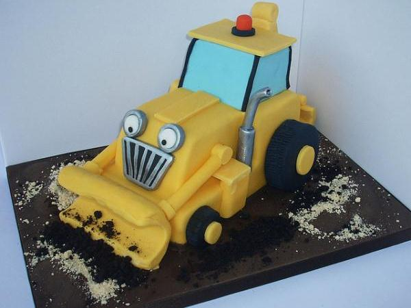 digger 30 Yummy Pictures of Cakes