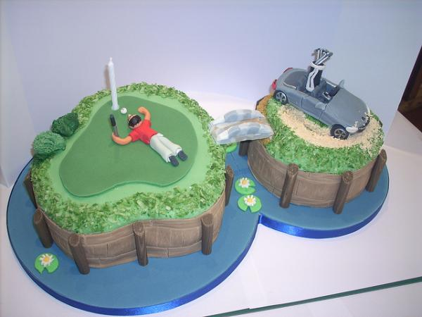 golf 30 Yummy Pictures of Cakes