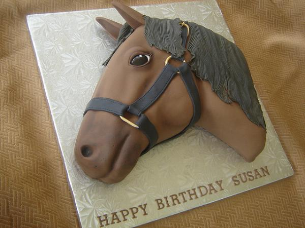 horse 30 Yummy Pictures of Cakes