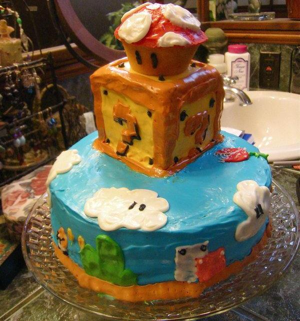 mario 30 Yummy Pictures of Cakes