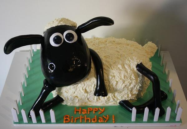 sheep 30 Yummy Pictures of Cakes