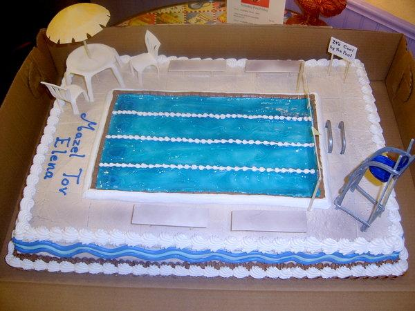 swimming pool 30 Yummy Pictures of Cakes
