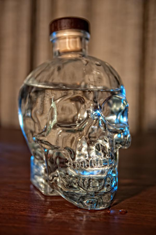 crystal vodka 30 Chilling Pictures of Skulls