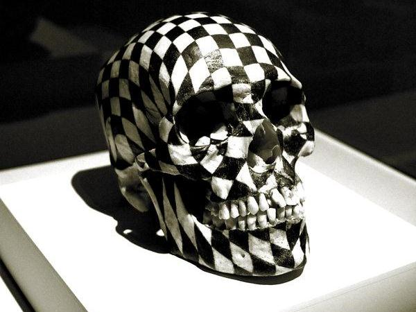 gabriel orozco skull 30 Chilling Pictures of Skulls