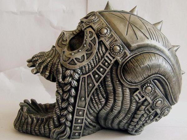 Metal Warrior Skull