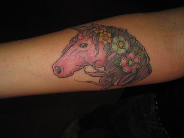 pink mare 25 Fantastic Pink Tattoos