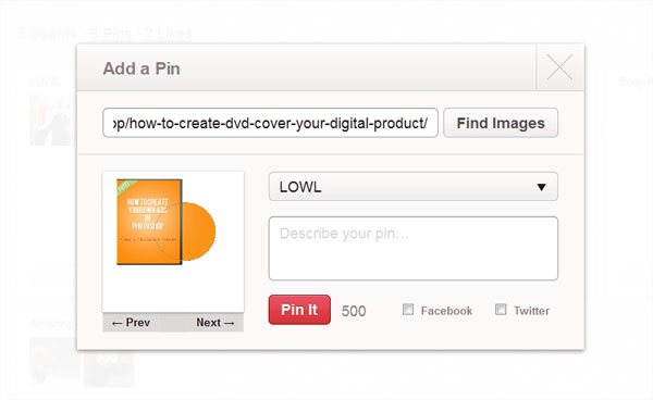 add a pin How To Use Pinterest   Everything You Need To Know