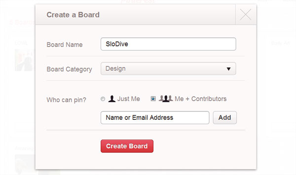 create a board How To Use Pinterest   Everything You Need To Know
