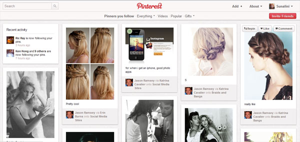 pinners you follow How To Use Pinterest   Everything You Need To Know