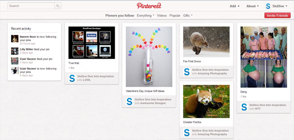 pinterest homepage How To Use Pinterest   Everything You Need To Know