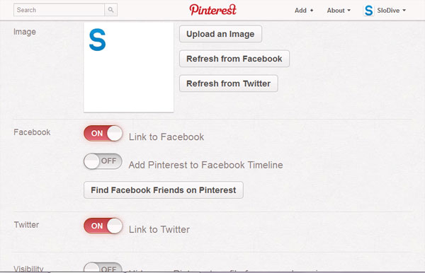 settings How To Use Pinterest   Everything You Need To Know