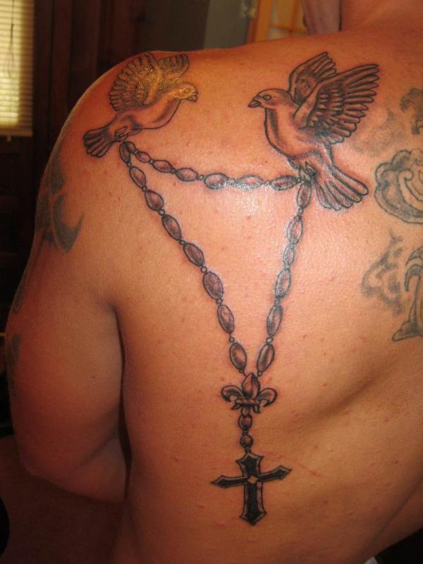 b196da530 Holy Rosary Tattoos - 30 Sacred Collections | Design Press