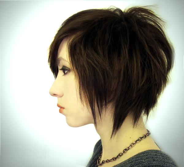 Edgy Hairstyles on Edgy Bob Hairstyle