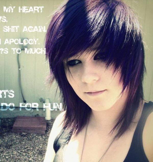 Phenomenal 25 Groovy Short Emo Hairstyles Slodive Hairstyles For Women Draintrainus