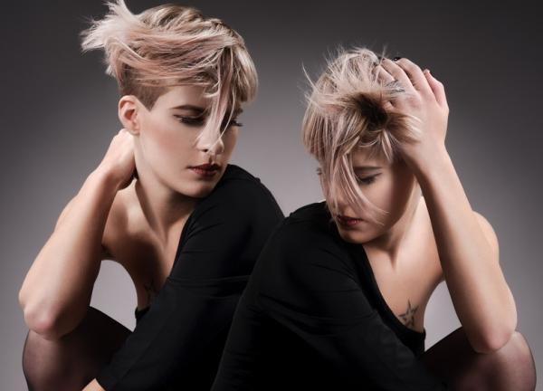 Hair Style Shoot Twins