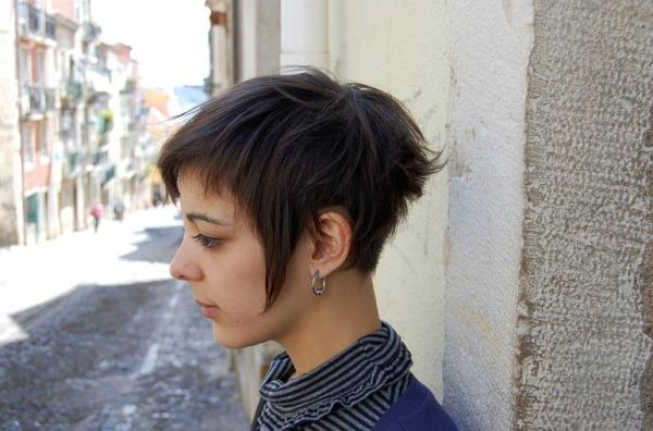Short Hair Asymmetric