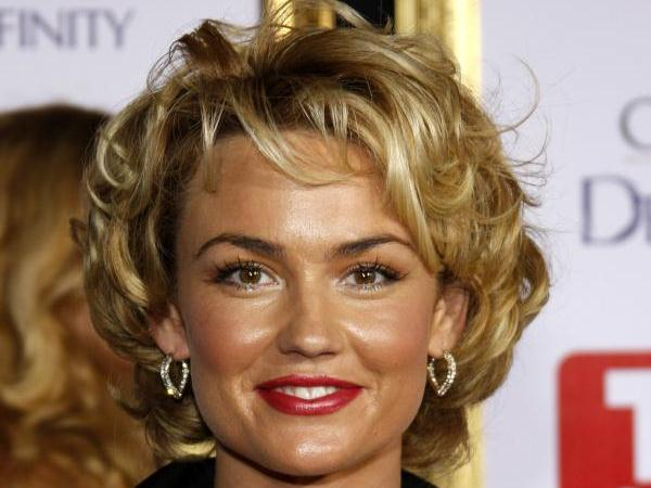 Kelly Carlson Short Curly