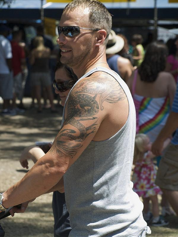 Shoulder Tattoos For Guys Slodive 30 Marvelous Images