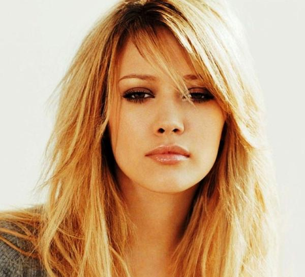 30 Awesome Side Swept Bangs On Long Hair - SloDive