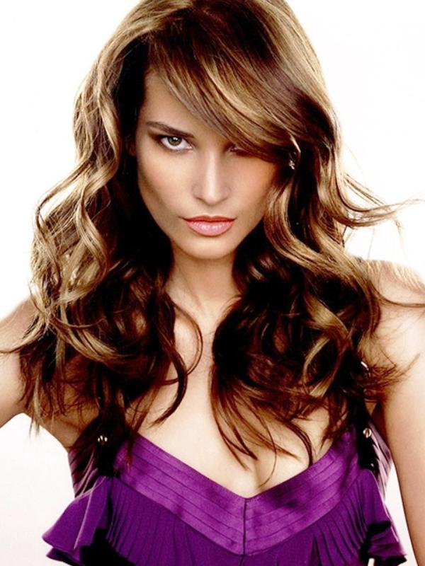 Hair Design Awesome Side Swept Bangs On Long Hair Slodive