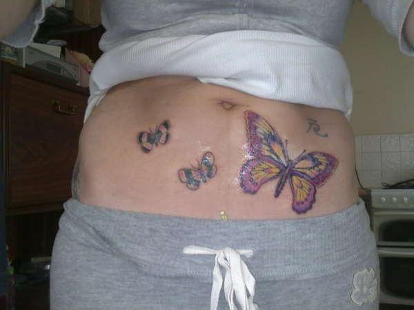 Butterflies On Tattoo