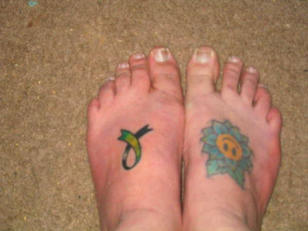 da feet 25 Majestic Tattoos On Feet