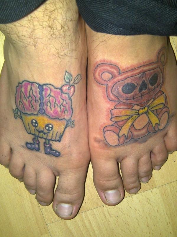 my feet tattoos 25 Majestic Tattoos On Feet
