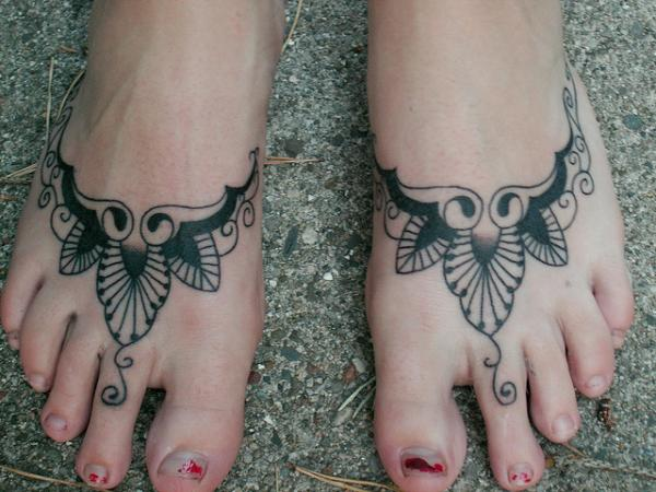 tattooed feet 25 Majestic Tattoos On Feet