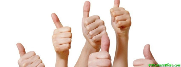 facebook cover thumb 30 Groovy Thumbs Up Symbol Collection
