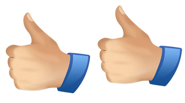 psd thumbs up 30 Groovy Thumbs Up Symbol Collection