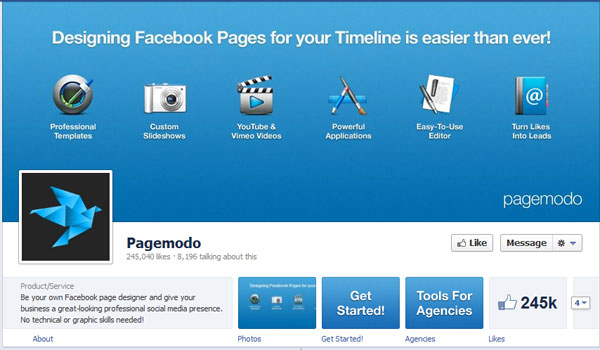 pagemodo 40 Creatively Awesome Facebook Timeline As Used By Brands