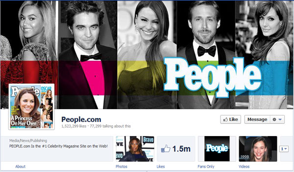 people 40 Creatively Awesome Facebook Timeline As Used By Brands