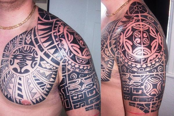 for tribal blade shoulder tattoo 30 Groovy  Arm Tribal  SloDive Tattoos