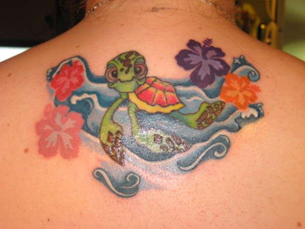 crazy turtle 30 Jazzy Turtle Tattoos