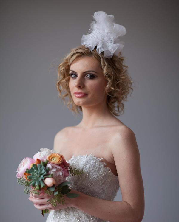 bride picture 35 Lovely Wedding Hairstyles For Short Hair